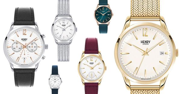 Angesagt: Armbanduhren aus England