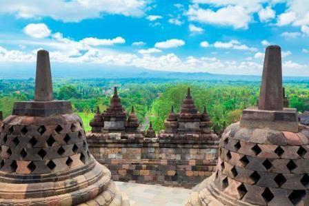 Die buddhistischen Tempelanlagen Borobudur