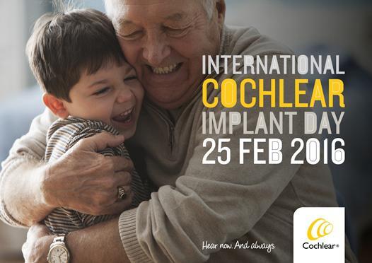 Internationaler Tag des Cochlea-Implantats