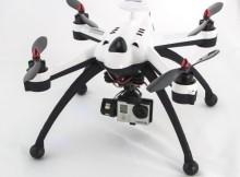 Ein fast schon professionelles Modell: Der Invader FPV Quadcopter mit GPS und Kamera