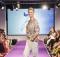 Sonja Zietlow als Model bei der Manou Lenz Fashionshow in Berlin