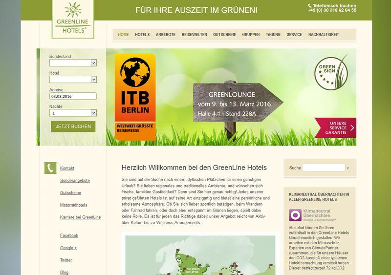 """Mit dem Zertifikat """"GreenSign"""" zum Vorreiter für die Privathotellerie"""