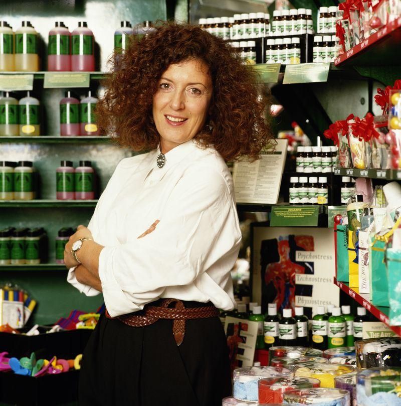 Gründerin Anita Roddick