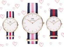 Schöne Uhrenmodelle für schöne Models