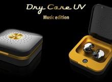 dry-care uv Music edition - die Trocken- und Pflegebox für Musikfans