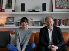 Pianistin Alice Sara Ott und Michael Langbehn von Panasonic Deutschland