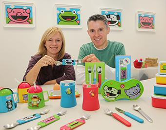 Das englische Label TUMTUM bietet alles, was Kleinkinder brauchen, um mit Freude essen zu lernen