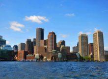 Die Skyline von Boston