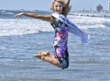 Miss America auf dem Sprung in die Modewelt