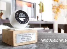 DELIFE gewinnt den begehrten Shop Usability Award in der Kategorie Möbel & Wohnen