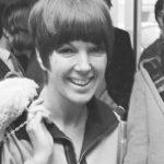 Die britische Modedesignerin Mary Quant