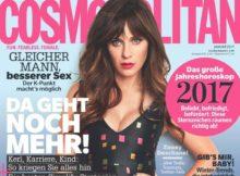 "Zooey Deschanel (36) in Cosmopolitan: ""Ängste sind interpretierbar"""