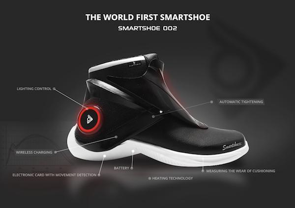 Die erste Smartshoe Kollektion
