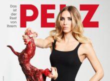 Ann-Kathrin Brömmel in neuer PETA-Kampagne
