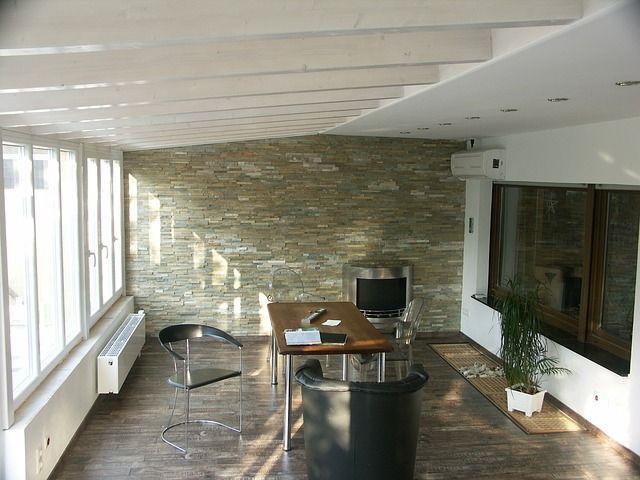 Moderner-Wintergarten in Industrial Chic - der Einrichtungstrend für Zuhause