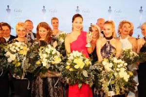 Ana Ivanovic and winners during the Gala Spa Awards at Brenners Park-Hotel & Spa on March 25, 2017 in Baden-Baden
