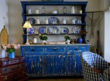 Eine sehr schöne Einrichtungsfarbe ist blau