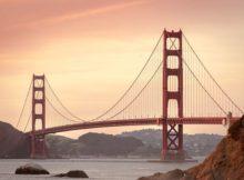 Für viele sind die USA immer noch ein Traumreiseziel - Die Golden Gate Bridge von San Francisco