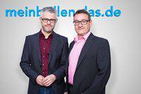 Meinbrillenglas.de Gründer Valentin Popa und Manuel Hualde