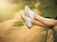 Nicht jeder kommt mit so einfachem Schuhwerk klar