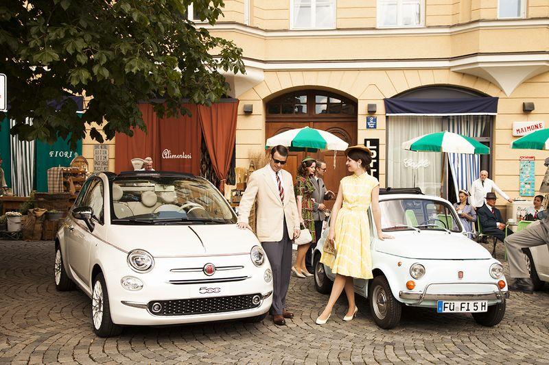 170613 Fiat 500 MG 06 in Fiat 500 auf Zeitreise in München