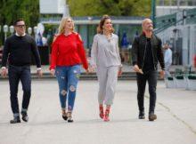Curvy Supermodel Neue -Jury beim Massencasting