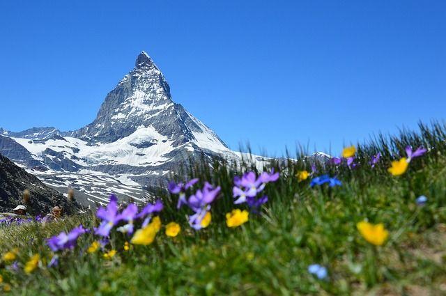 Das-Matterhorn in Fünf Gründe für eine Reise in die Schweiz