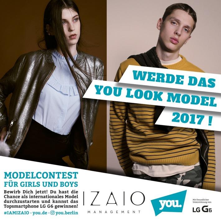 Gesucht-werden-Girls-und-Boys-zwischen-14-und-19-Jahren in Bewerbungsstart für You Look Modelcontest 2017