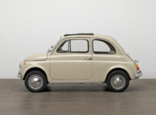 Fiat 500 im Museum of Modern Art aufgenommen