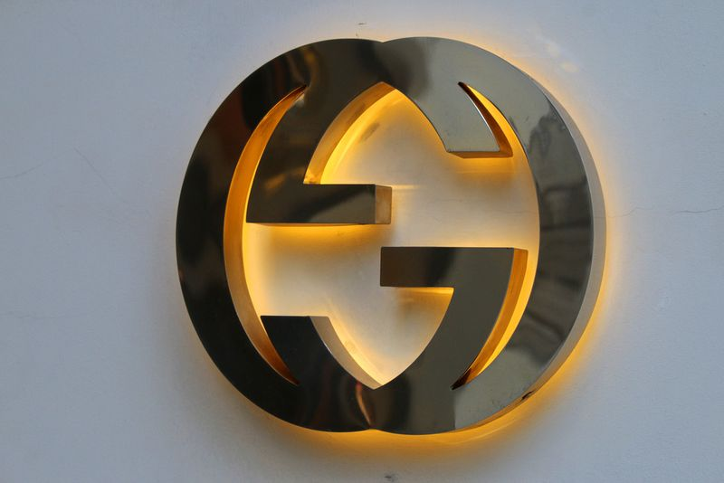 Das Label der Nobelmarke Gucci