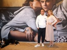obbie & Ayda Williams im MARC O'POLO Flagship Shop in München