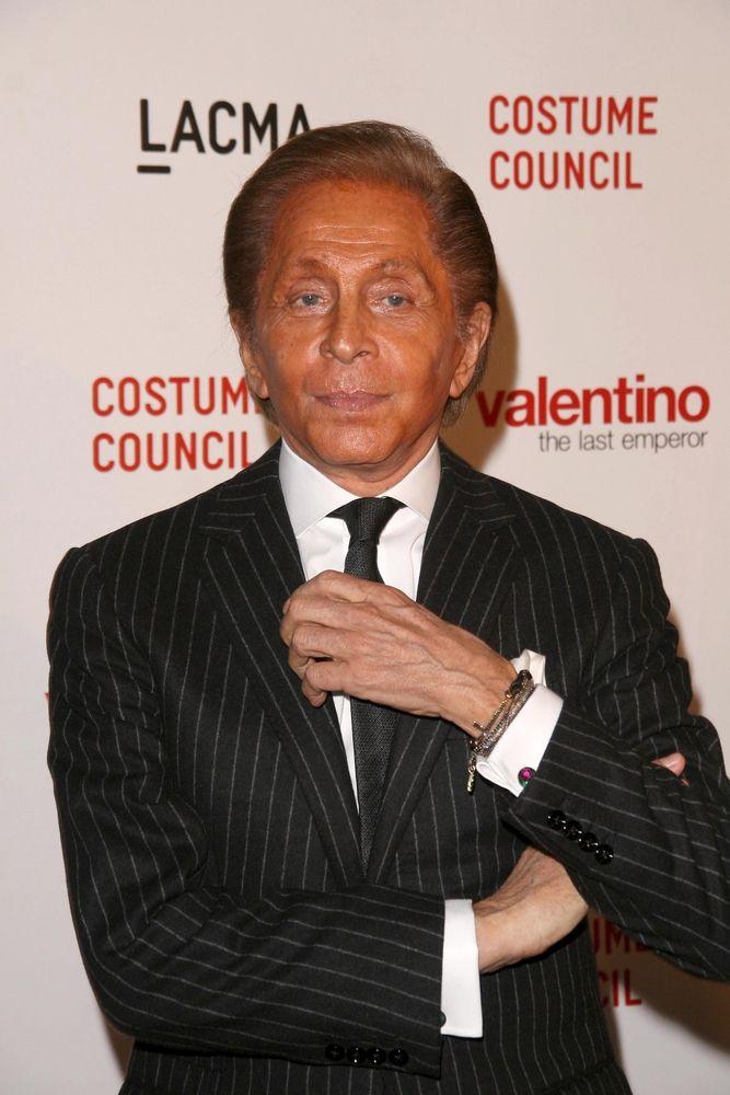 Valentino-Garavani in Weisse Sneaker von Valentino Garavani