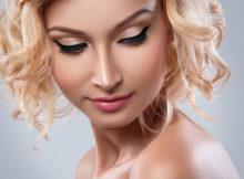 Mascara und Eyeliner