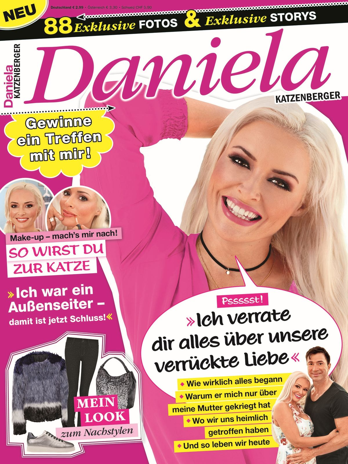 Daniela Katzenberger als Magazin