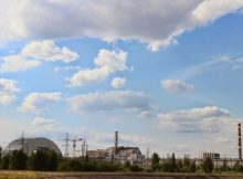 AKW Supergau -Tschernobyl in der Ukraine