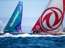 Faber beim Volvo Ocean Race