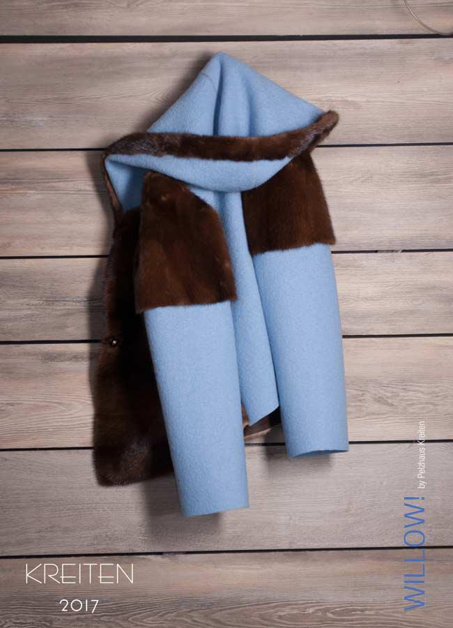 Mit Loden kombiniert - Willow!: Macht mehr aus getragenem Pelz
