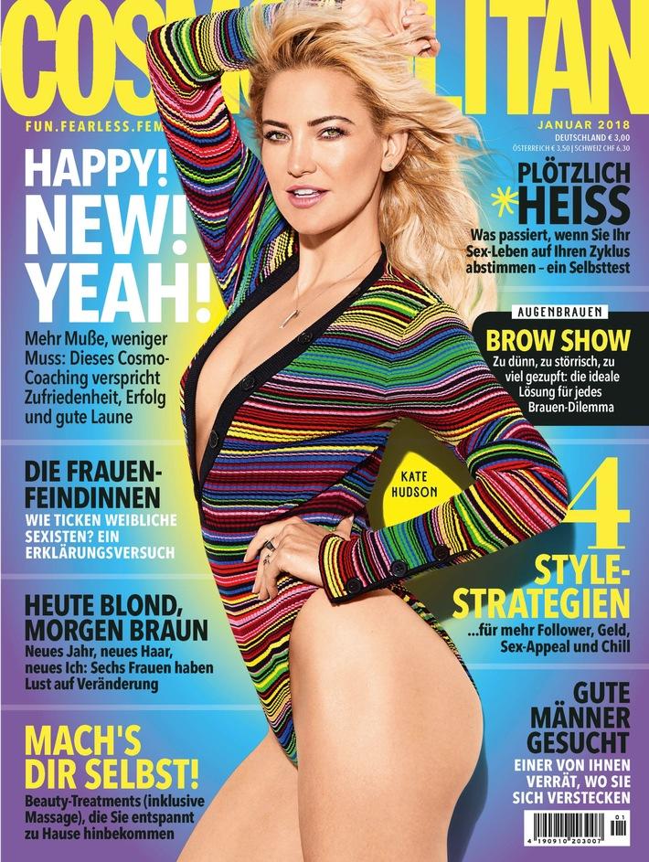 Cosmopolitan Cover 01/2018