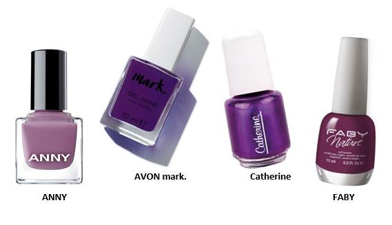 Dazu-passend-die-Krallen in Die Make-up Trendfarben des Frühlings