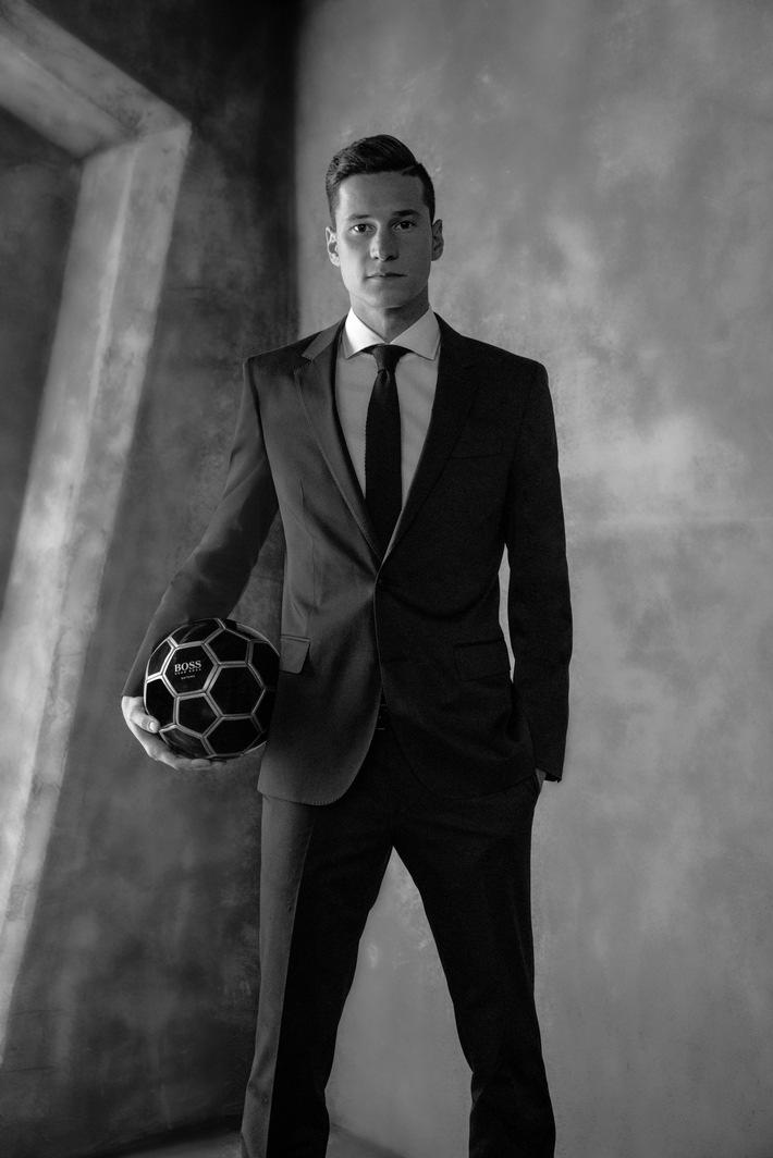 Boss Parfums gibt Partnerschaft mit Fußballstar Julian Draxler bekannt