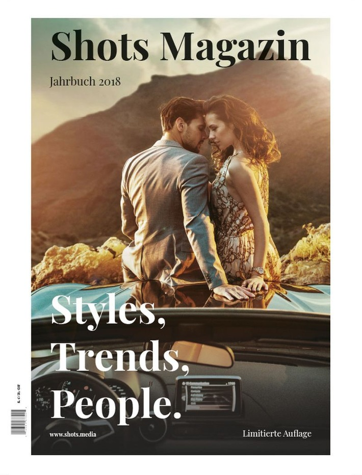 """Das """"Shots Magazin Jahrbuch 2018"""" erscheint im August 2018"""