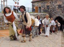 Der historische Festumzug durch Stolpen