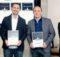 Gewinner Top hotel Star Award (Clemens Fisch von SiteMinder in der Mitte)