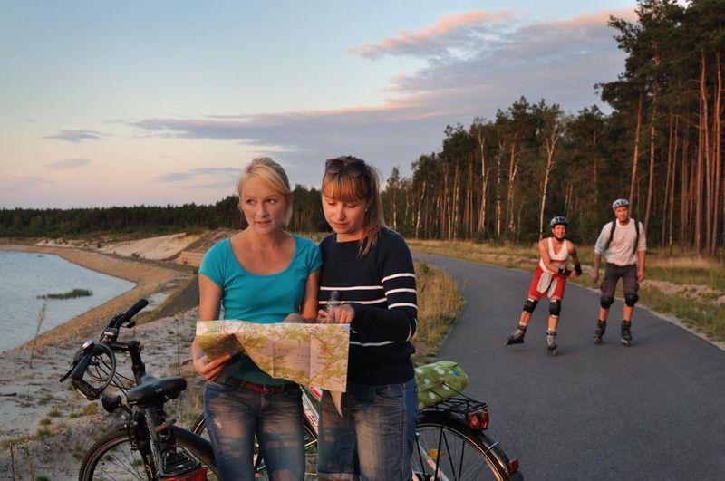 Radfahren im Lausitzer Seenland