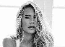 Amtierende Miss Germany, Anahita Rehbein, wird Unterwäsche Model