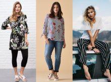 Angesagter Summer-Look Blumen- und Streifen-Prints