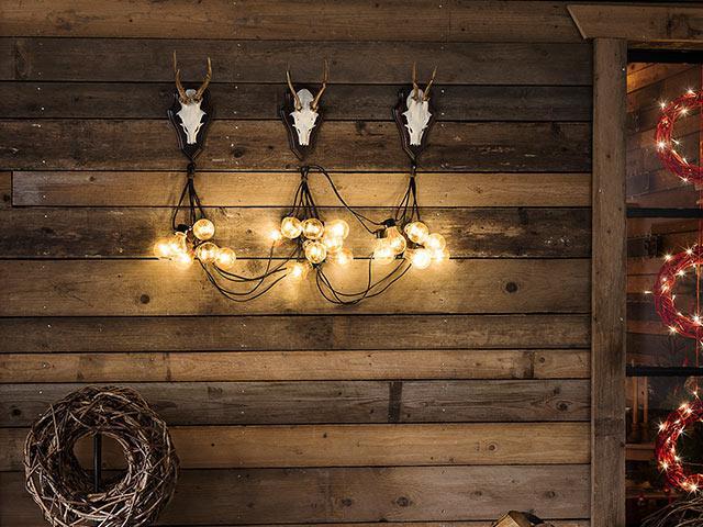 Schlichte Lichterkette für jede Jahreszeit