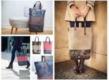 Animal Prints auf Taschen des Berliner Labels udo couture