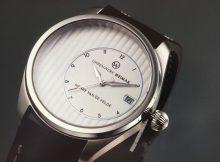 """Henry van de Velde"""" - Modell der ersten Kollektion des neuen """"Uhrenwerk Weimar"""""""