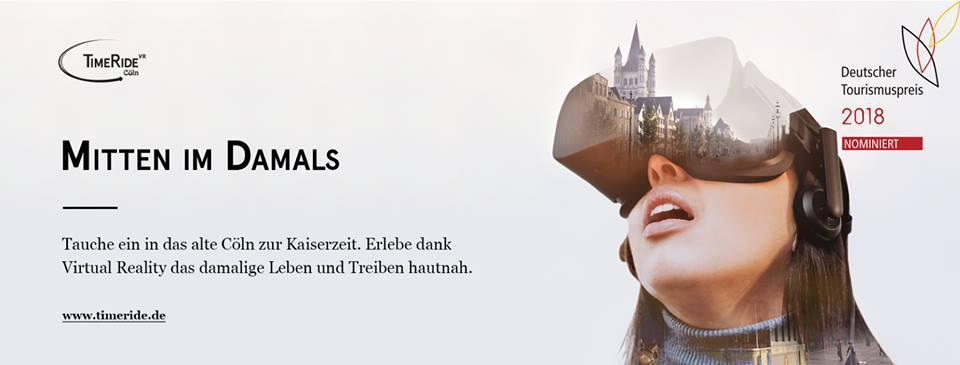 TimeRide VR Finalist beim Deutschen Tourismuspreis 2018